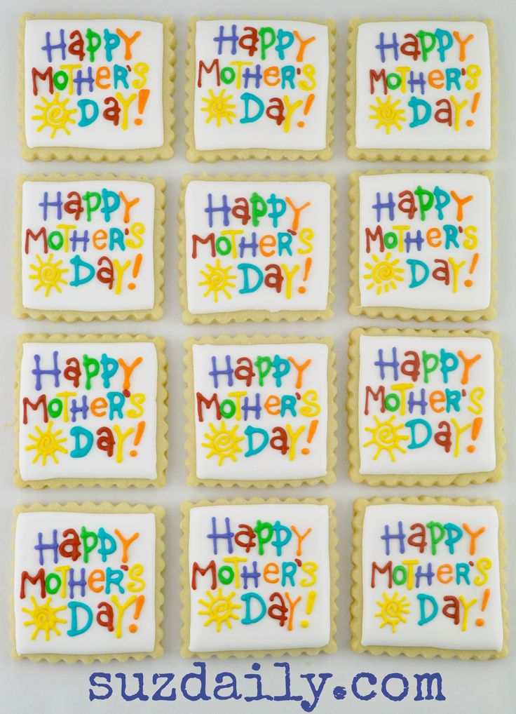 mothers day cookie
