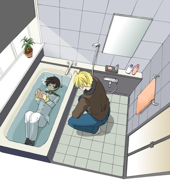 funny hetalia pictures | Hetalia America and Japan...NO WORDS...XD