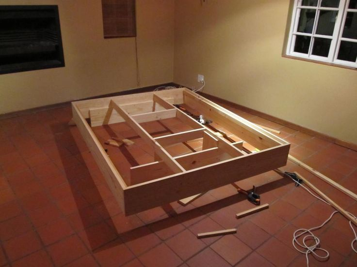 King Size Bed Frame Diy Do It Yourself
