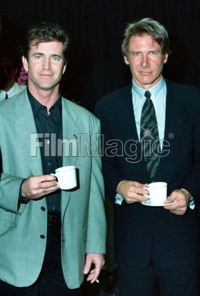 Mel Gibson and Harrison Ford...