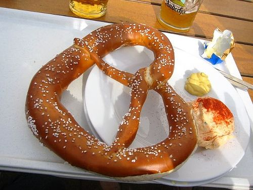 News to me -- Heard at church on Sunday the story behind pretzels!