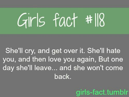 17 Best images about Girl Facts on Pinterest