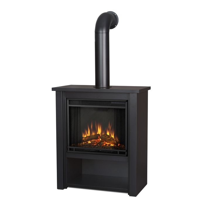 Real Flame Gel Fireplaces Ventless Fireplaces Portable Fireplace Gel Fuel With Images Indoor Electric Fireplace Electric Fireplace Black Electric Fireplace