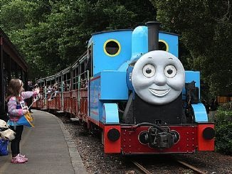 Puffing Billy as Thomas the Tank Engine :: Dandenong Ranges, Victoria, Australia