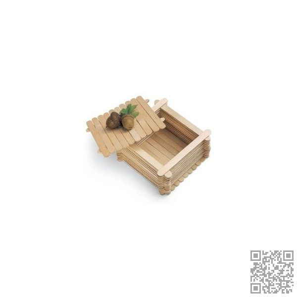 3. #Lollipop Sticks Box - 27 DIY #Trinket Boxes to Keep Your #Bling Organized ... → DIY #Photopost