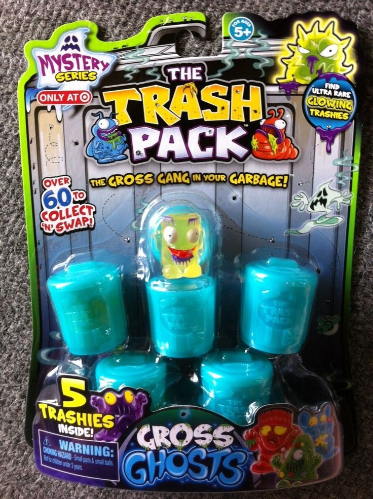 The Trash Pack Mystery Series 5 Pack Toys
