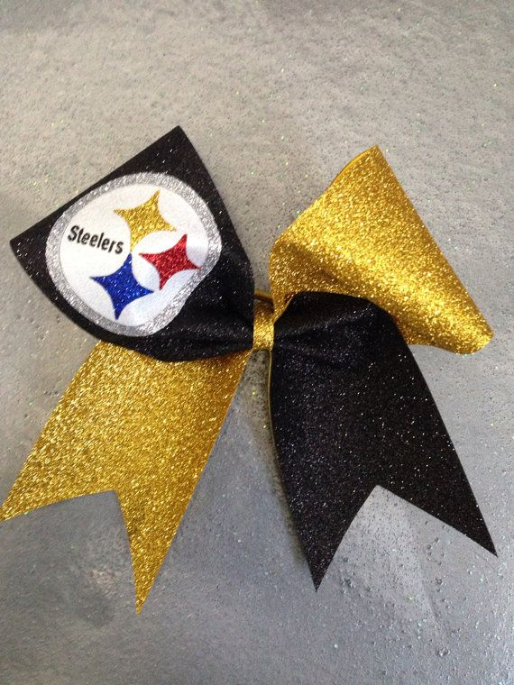Pittsburgh Steelers Cheer Bow