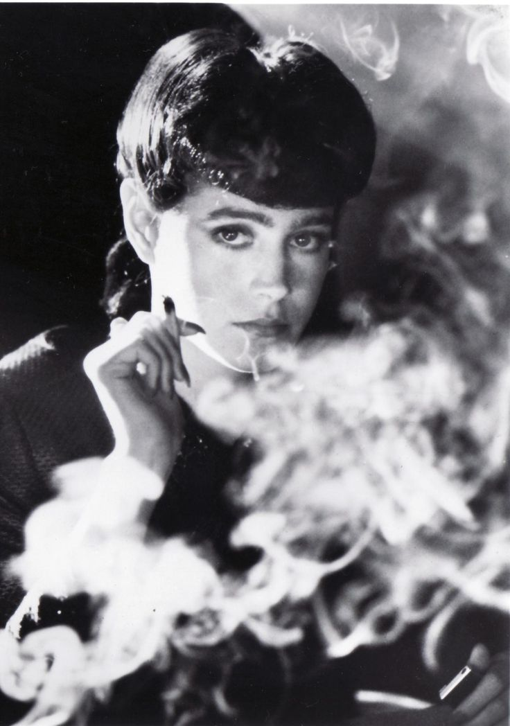 Sean Young as Rachel (Blade Runner)  Still one of my favourite movies