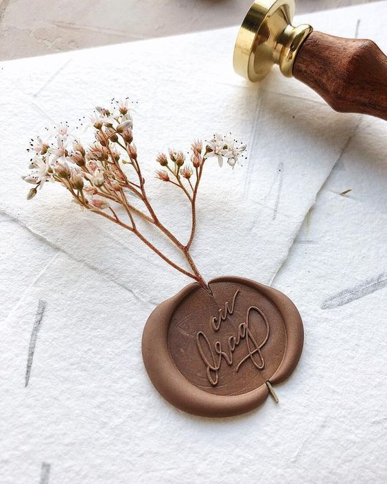 wedding invitations wax seal , diy wedding invitations on a budget – #budget #DI