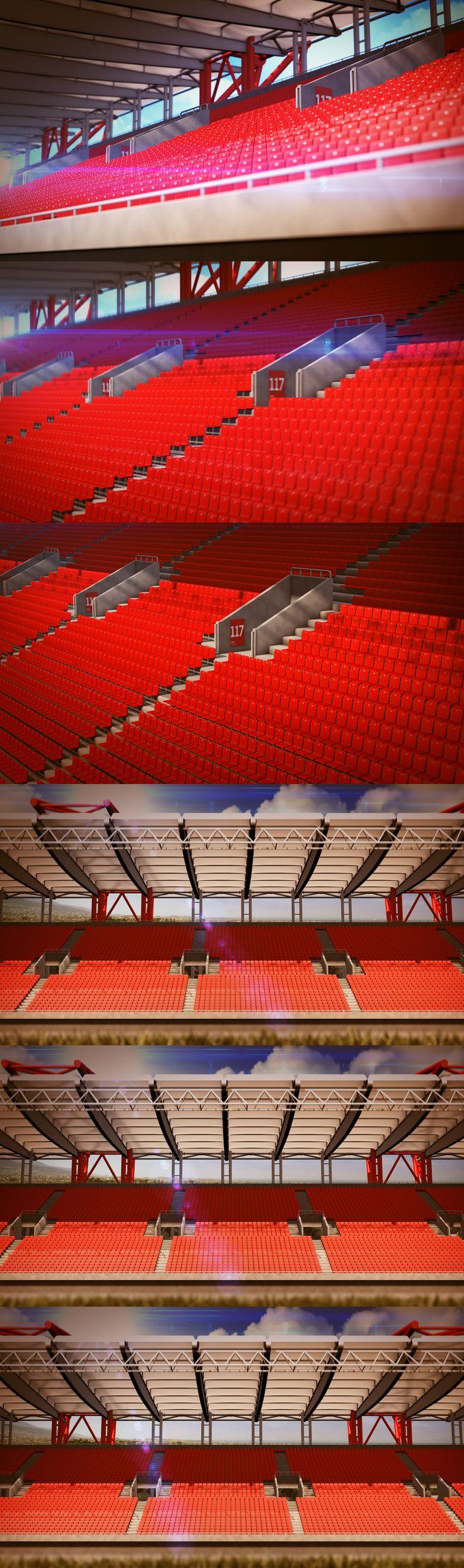 Karaiskaki Stadium Animations  (2 Shots)