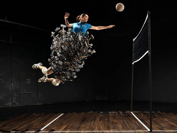 cool volleyball Wallpaper HD Wallpaper