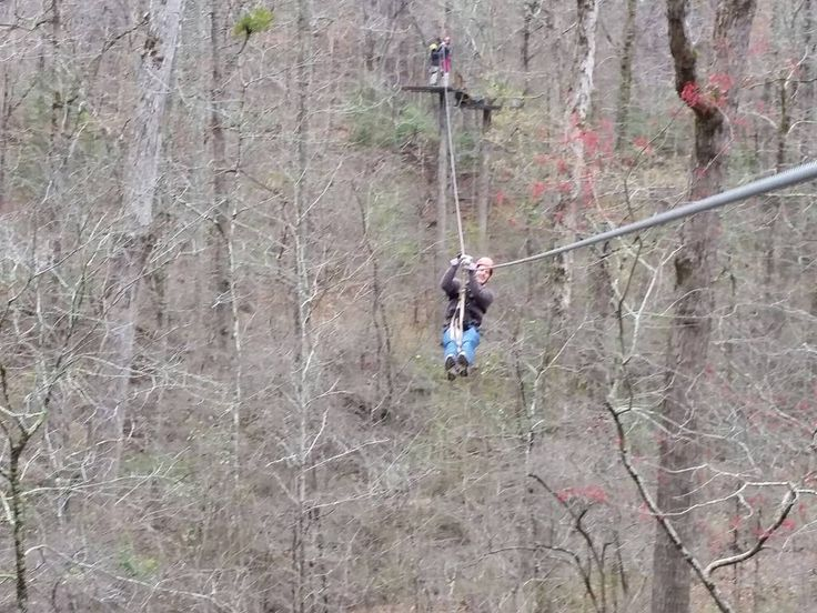 It?s not the years in your life that count. It?s the life in your years. Try something new and concur Zip Quest Zipline Tours!