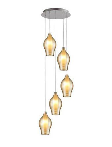 ZUMA LINE lampa wisząca MIRANDA 5