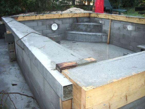 17 meilleures id es propos de liner piscine sur for Fabrication piscine beton