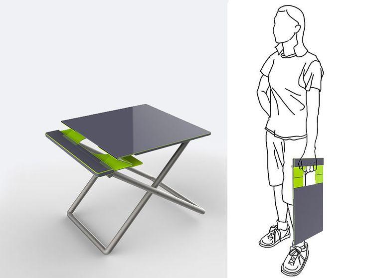 Unique Portable Desk Chair Workstations For Design