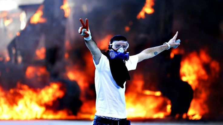 Lors du soulèvementnplace Taksim