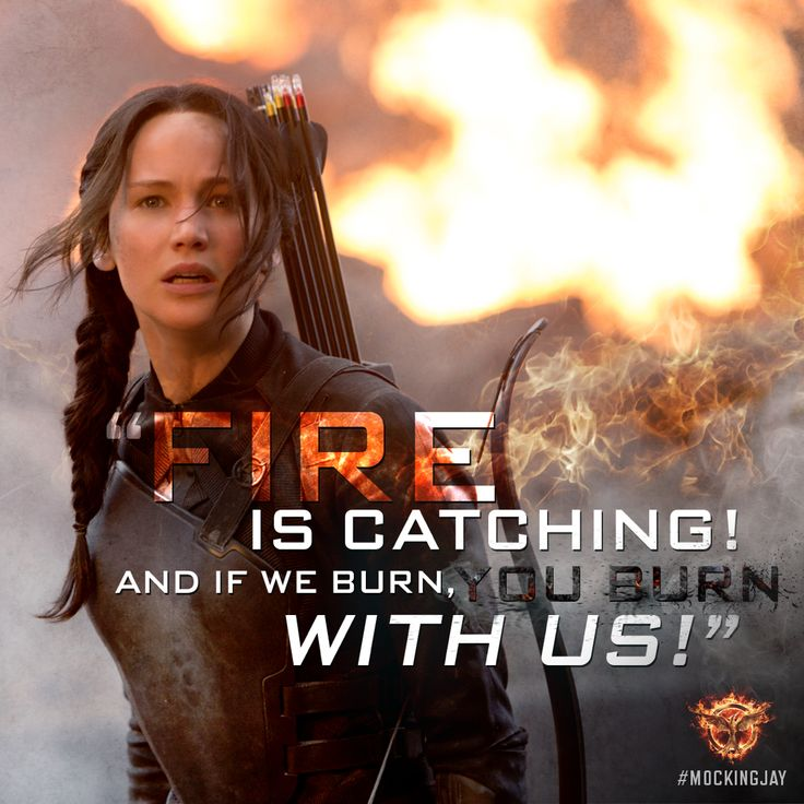 """Put her out in the field and just keep the cameras rolling."" - Plutarch Heavensbee, #Mockingjay"