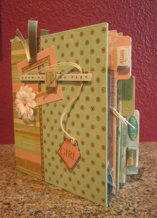 Scrapbooking: Scrapbook Ideas, Minis Books, Minis Album, Cute Ideas, Recipes Books, Cool Ideas, Baby Books, Scrapbook Layout, Minis Scrapbook Album
