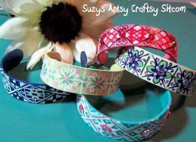 popsicle stick bracelets / suzys artsy craftsy sitcom