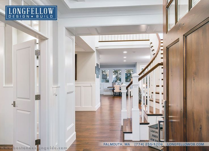 Longfellow Design Build | Design Build Company in Falmouth MA | Boston Design Guide & 77 best Foyers images on Pinterest | Homes Boston and Custom home ... pezcame.com