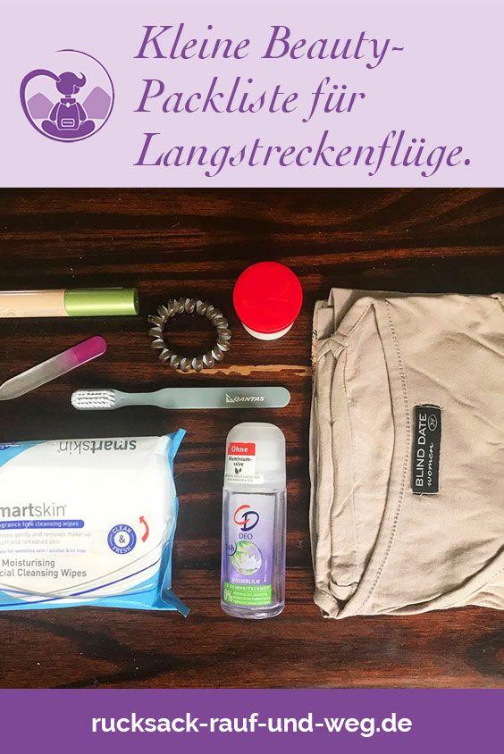 Was soll mit ins Handgepäck bei einem Langstreckenflug? Wohlfühlen auf einem Langstreckenflug: Mit dieser kleinen Beauty Packliste für's Handgepäck bist du bestens vorbereitet!