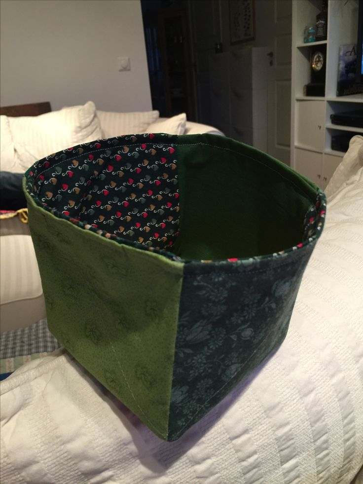 Thread basket in 20 min. Easy project