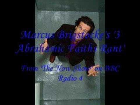 Marcus Brigstocke's '3 Abrahamic Faiths' Rant