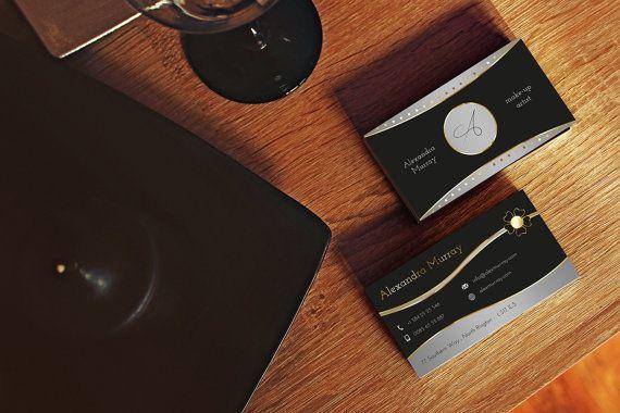 Elegant business card black and gold. от FabioFerranteDesign