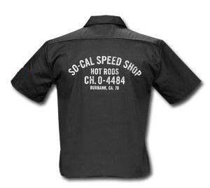 Button up shirt - SO-CAL Speed Shop Truck Door Workshirt – PoisonKandyKlothing
