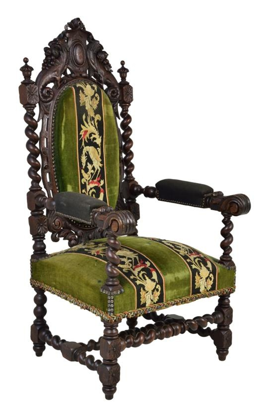 Fauteuils Styles Louis Xiii Louis Xiii Style Arm Chair | Antique Furniture | Eclectic