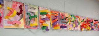 Art With Mr. E: Paper Sculpture/ Texture Focus: Kindergarten