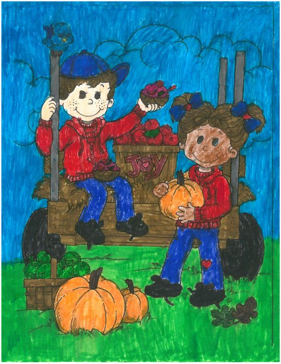 Coloring contest entry from Taveon, age 10 from AL! #bringJOYhome  #coloring