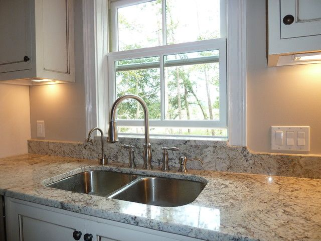 Awesome White Springs Granite to Beautify Kitchen Interior