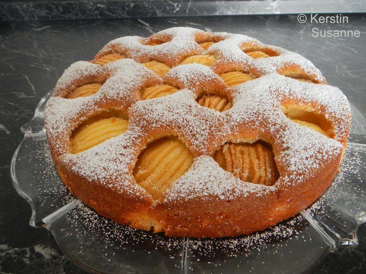 Das perfekte Apfelkuchen sehr fein-Rezept mit Bild und einfacher Schritt-für-Schritt-Anleitung: Butter schaumig rühren.