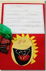 pop rocks descriptive writing- I did this back a few months ago and they loved it!!!