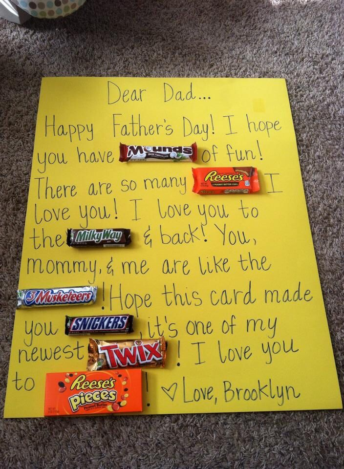Random stuff- cute Father's Day gift
