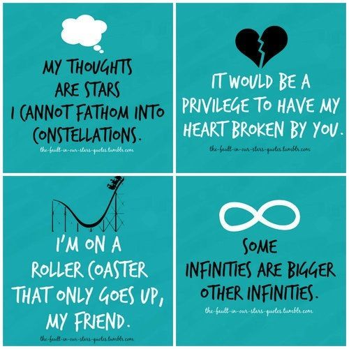 Quotes From The Fault In Our Stars 65 Best Quotes Images On Pinterest  Tfios Fault In Our Stars And .