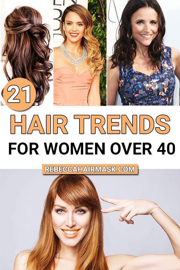 2020 Hair Trends For Women Over 40 Hair Trends For Medium And Short Hair In 2020 Summer Hair Trends Hair Trends Medium Hair Styles