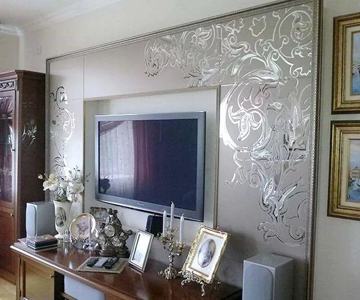 зеркальная стена в гостиной: 18 тыс изображений найдено в Яндекс.Картинках