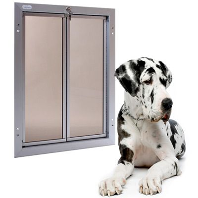 PlexiDor Performance Pet Doors has designed an extra-large dog door that even the largest dogs can access | Modern Dog Magazine