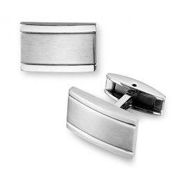 Classic Curve Silver Cufflinks $25