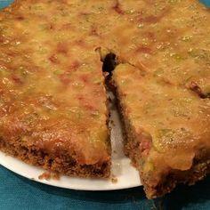 Перевернутый пирог с крыжовником.