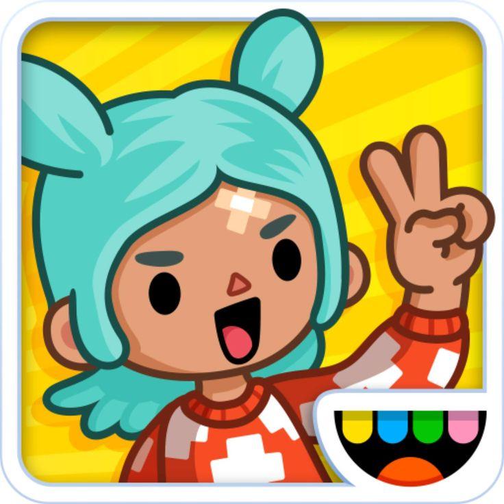 Toca Life City AppsGames Kids app, Toca boca life, City