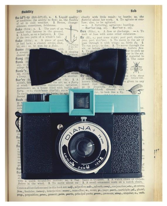 LovelyBlue Cameras, Vintage Cameras, Art Prints, Cameras Art, Cameras Bows, Bookmarks Pictures, Lights Fantastic, Art Illustration, Photography