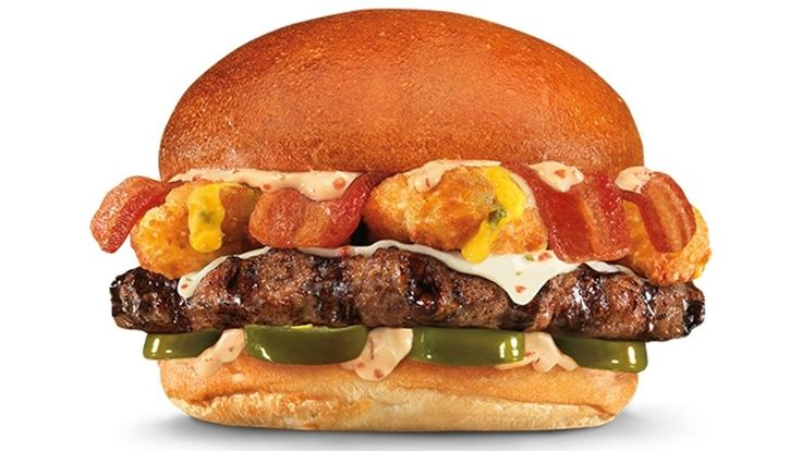 Thickburger El Diablo From Hardee's and Carl's Jr. Might Just Be The World's Hottest Burger, So Get Excited, Spicy Food Fans | Bustle
