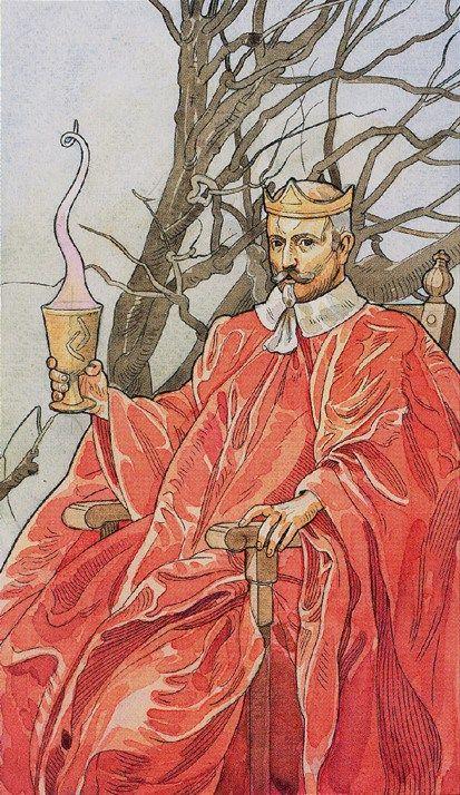 Rei de Copas - The Sorcerers Tarot