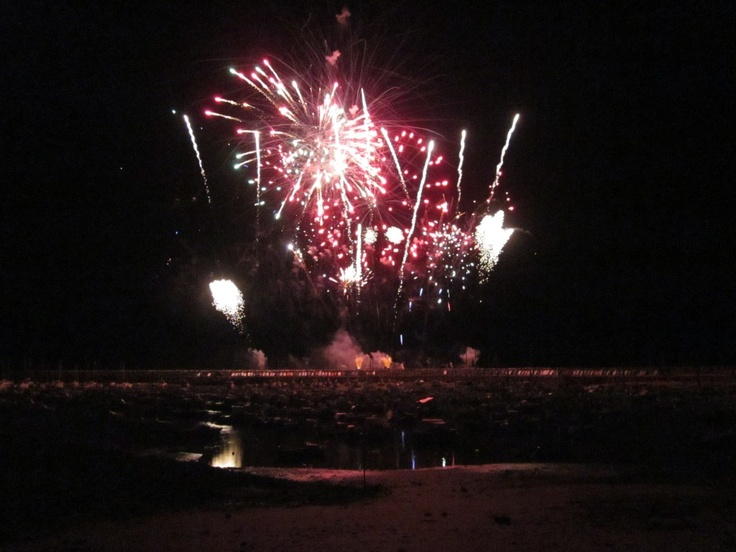 Holidays in the Vendee by Thomas James Holidays. Fireworks Jard Sur Mer Harbour