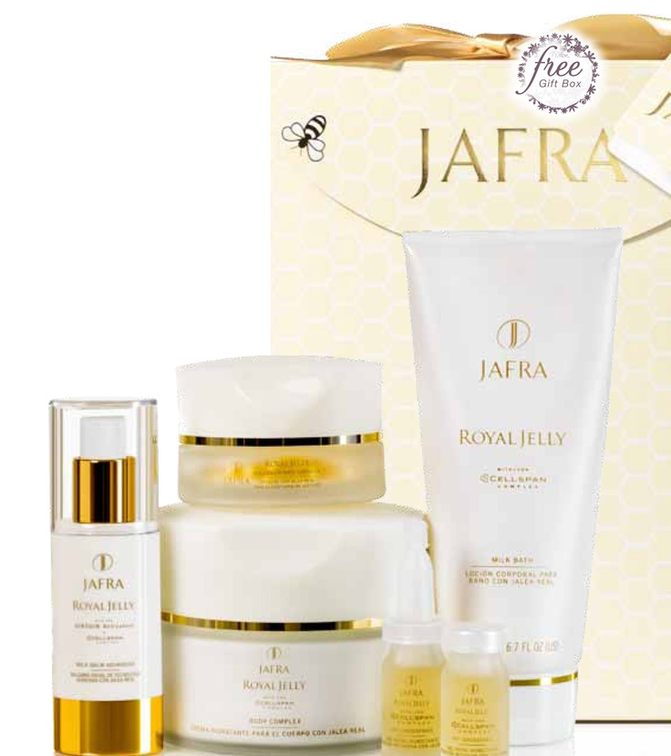 JAFRA Skin Care! ROYAL JELLY Holiday Collection SAVE 50%! Includes ...