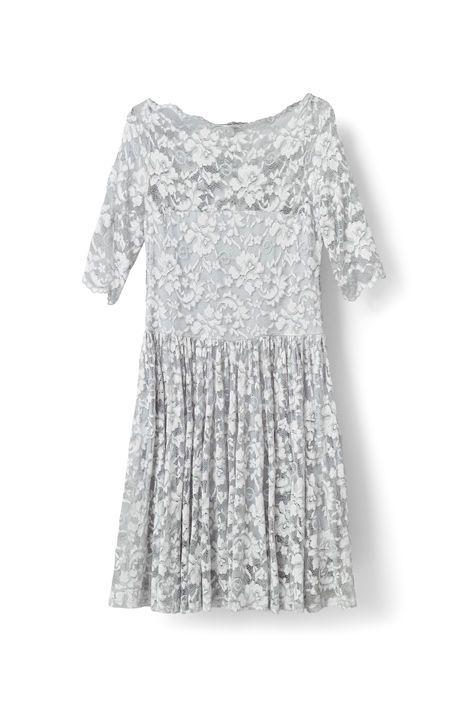 Ayame Lace Dress, Pearl Blue