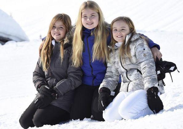 Принцесса Алексия попал в аварию в Лех горнолыжный Центр